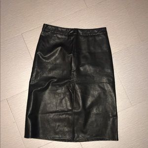 ‼️SALE‼️ faux leather skirt